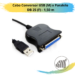 Cabo Conversor USB (M) x Paralelo DB 25 (F) – 1,50 m