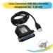 Cabo Conversor USB (M) x Paralelo (Amphenol 36) – 1,50 mts