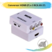 Conversor HDMI (F) x 3 RCA AV (F)