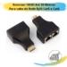 Extensor HDMI Até 20 Metros  Para cabo de Rede Rj45 Cat5 e Cat6
