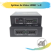 Splitter de Vídeo HDMI 1 x 2