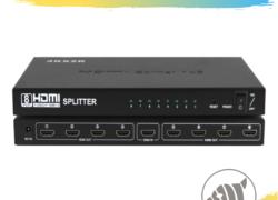 Splitter de Vídeo HDMI 1 x 8