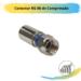 Conector RG 06 de Compressão