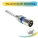 Plug Cannon XLR (M) – Metálico Ring
