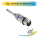 Plug Cannon XLR (F) – Metálico Ring