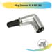Plug Cannon XLR 90º (M)