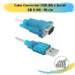 Cabo Conversor USB (M) x Serial DB 9 (M) – 90 cm